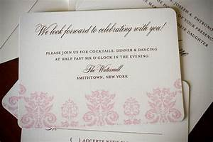 wedding reception invitation wording samples help with With wedding invitation inserts etiquette