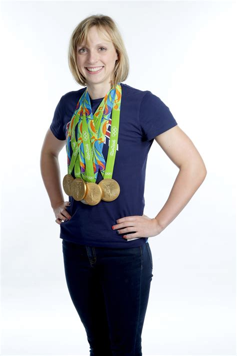 Daughter of david and mary gen ledecky.has one older brother, michael. Katie Ledecky Photos Photos - Around the Games - Olympics ...