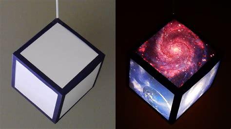 diy pendant lamplantern galaxy cube home  room