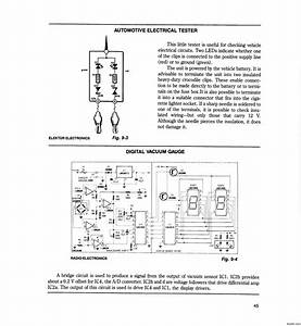 Automotive Electrical Tester - Measuring And Test Circuit - Circuit Diagram