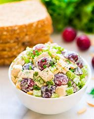 Greek Yogurt Chicken Salad with Grapes