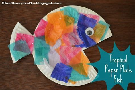 fish crafts for toddlers tropical paper plate fish 205 | 9abdf4f59c6c5850f481383ef23f3151