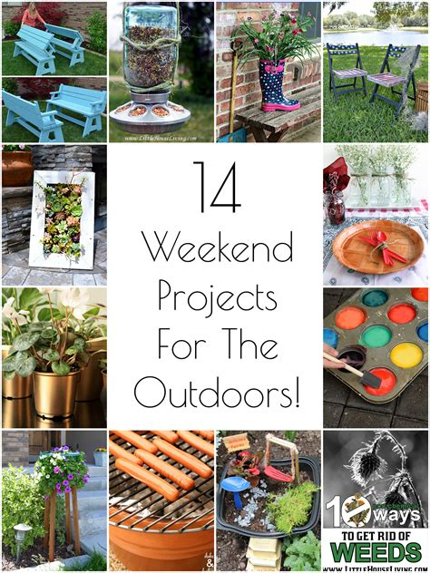 so creative diy outdoor weekend projects