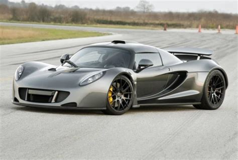 Fastest Production by Hennessey Venom Gt Beats Bugatti Veyron Sport As