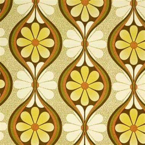 original geometric floral timesake vintage wallpaper
