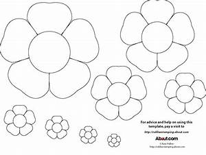 early play templates flower templates free With free flower templates to print