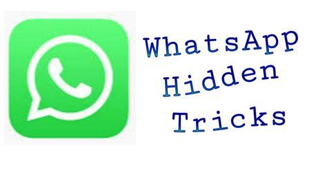 cool whatsapp tricks whatsapp features