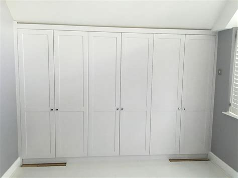 Style Wardrobes by Shaker Style Wardrobe For The Loft Bedroom Barn Doors In