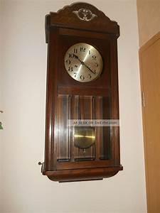 Wanduhren Mit Pendel Antik : alte pendeluhr regulator wanduhr antiquit t von divina ~ Watch28wear.com Haus und Dekorationen