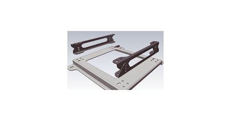 fixation siege baquet kit fixation siège baquet omp inférieur 50 62 75mm