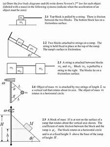 Two Blocks On Top Of Each Other Free Body Diagram