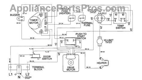 parts for maytag mde9206ayw wiring information parts appliancepartspros