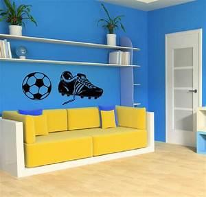 Fussball Deko Kinderzimmer : wandtattoo wandtattoos wandaufkleber online shop aufkleber ~ Michelbontemps.com Haus und Dekorationen