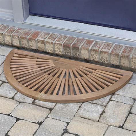 half teak mat outdoor