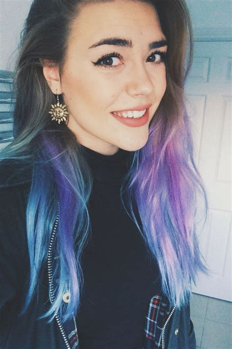 blue ombre hair color ideas  bold trendsetters