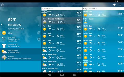 weather app for android best weather widgets for android users