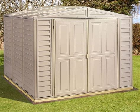 8 x 5 duramax duramate plastic shed what shed