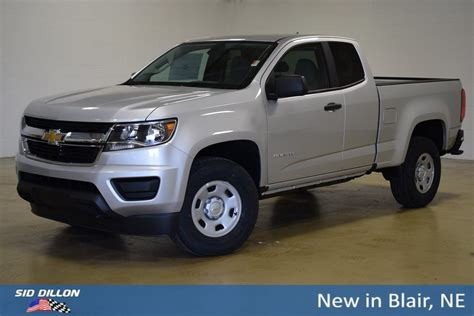Chevrolet Colorado 2019 by New 2019 Chevrolet Colorado 2wd Work Truck Extended Cab In
