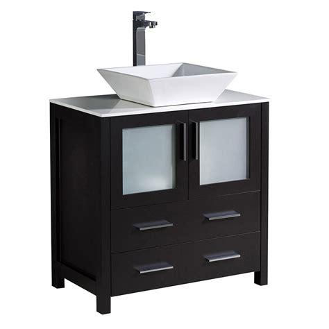 mounting kitchen cabinets glacier bay mar 30 in w x 19 in d bath vanity in 4294