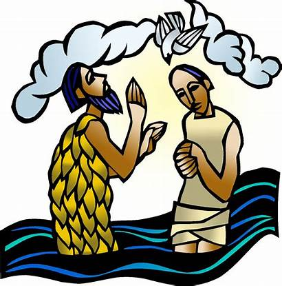 Baptism Lord Clipart Clip Elca Icon1 Worship