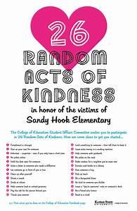 26 Random Acts of Kindness | Kansas State University ...
