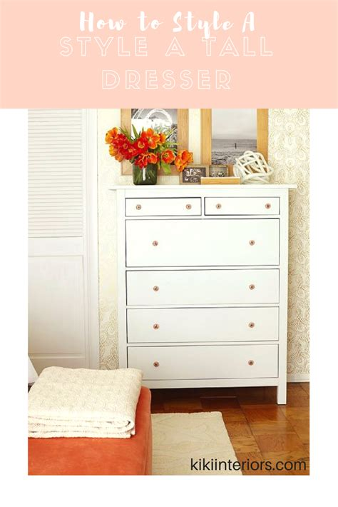 How To Style A Dresser how to style a dresser interiorsbykiki