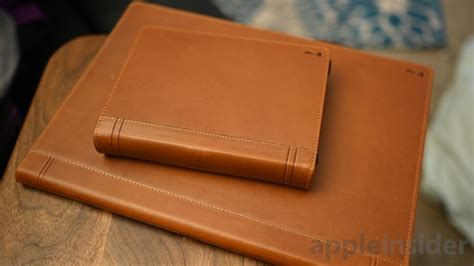 review twelve south leather journal line for macbook pro