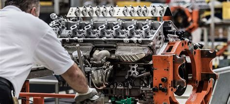 Martin V12 Engine by Inside An Aston Martin V12 Engine