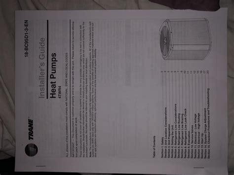 Help Nest Thermostat For Trane Twr Heat Pump System