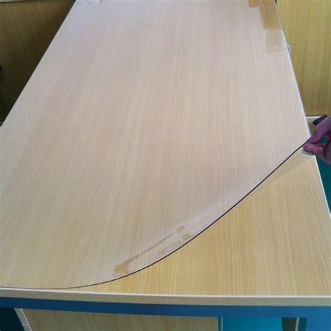 protection transparente pour table en verre