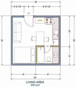 Free Printable 10x16 Tiny House Floor Plans