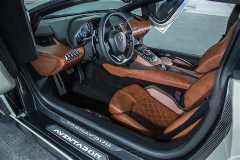 2018 Lamborghini Aventador S Interior 2 Motor Trend