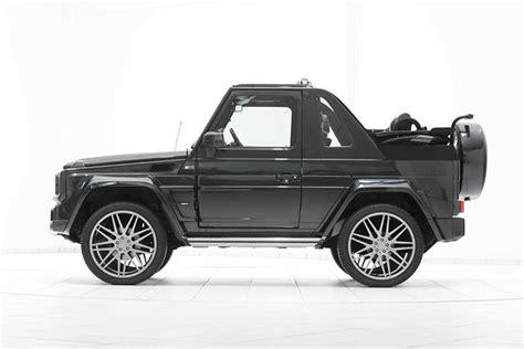mercedes jeep convertible brabus mercedes benz g500 convertible