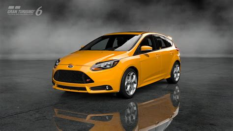 Cars Ford Focus St Gran Turismo 6 Video Games Walldevil