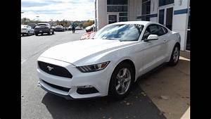 2015 Ford Mustang V6 Start Up, Tour, and In Depth Review - YouTube