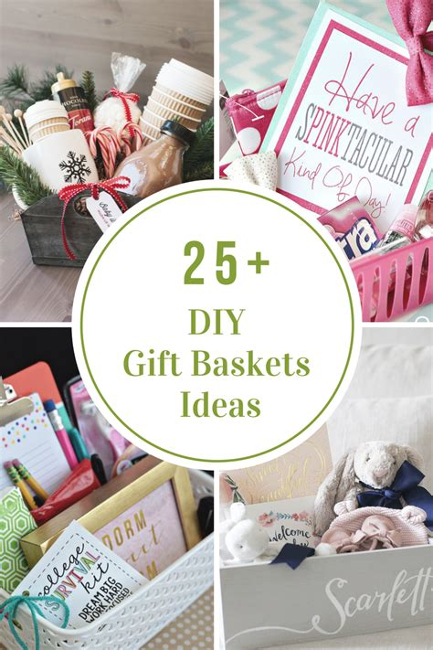 diy gift diy gift basket ideas the idea room