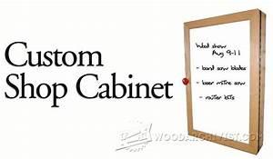 #1868 Shop Cabinet Plans • WoodArchivist