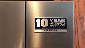 How To Remove The 10 Year Warranty Label From Your Maytag Appliances