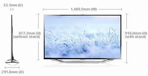 Dimension Tv 65 Pouces : 2012 ua65es8000r smart 65 inch full hd led tv samsung gulf ~ Melissatoandfro.com Idées de Décoration