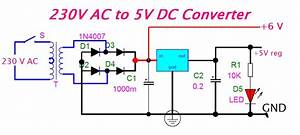 Eeetricks Blogspot Com  230v Ac To 5v Dc Converter Circuit Diagram