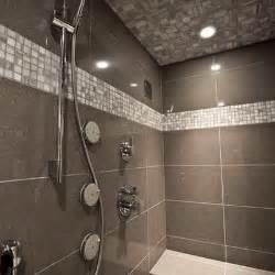 Large Bathroom Design Tile Showers Ideas