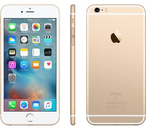 apple iphone 6s apple iphone 6s plus 64 gb gold deals pc world