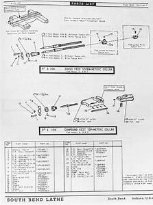 South Bend 9 U0026quot   U0026 10 U0026quot  Metal Lathe Parts Manual And Catalog