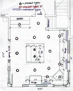 Recessed lighting layout diagram info
