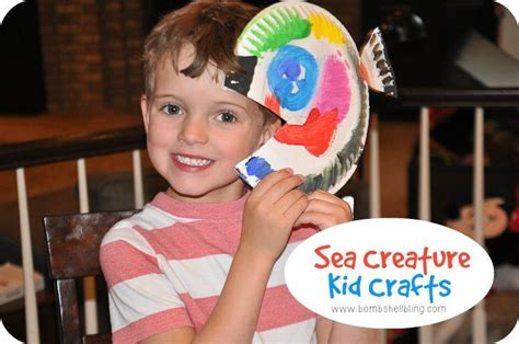Sea Creatures Kid Craft