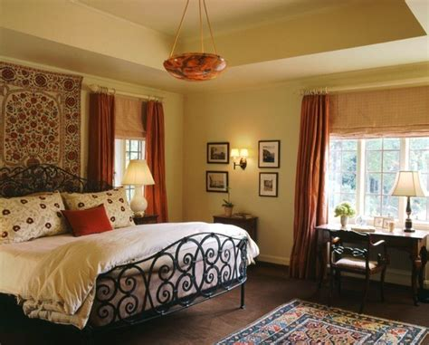 Spanish Colonial Master Bedroom, Westchester County, Ny