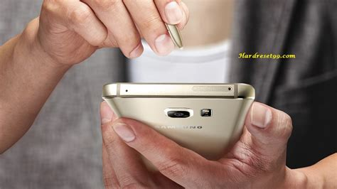 Samsung Galaxy Note5 Dual Sim Hard Reset, Factory Reset