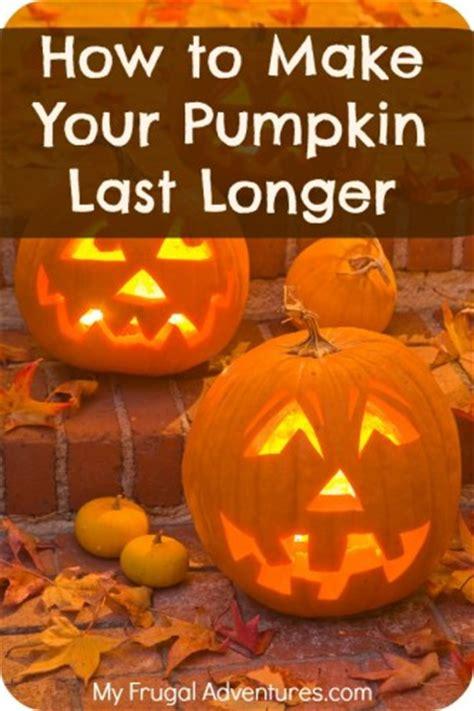 How To Make Pumpkins Last Longer {preserving Jack O