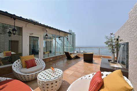 log homes interior designs a sea facing triplex penthouse in mumbai india