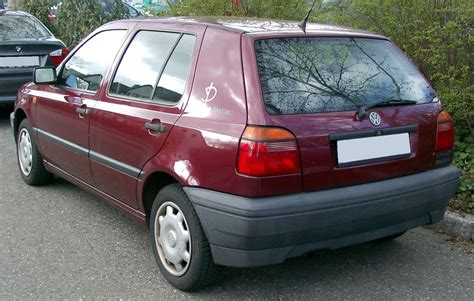 1991 Volkswagen Golf 14 Cl Related Infomation